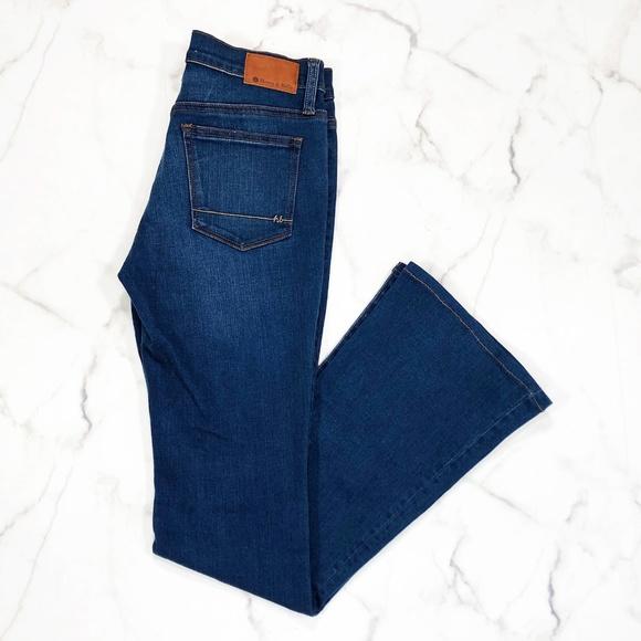 Henry & Belle Denim - Henry & Bell Micro Flare Dark Wash Jeans